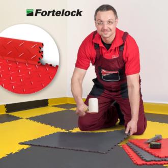 Come si installano i battiscopa Fortelock? È facilissimo