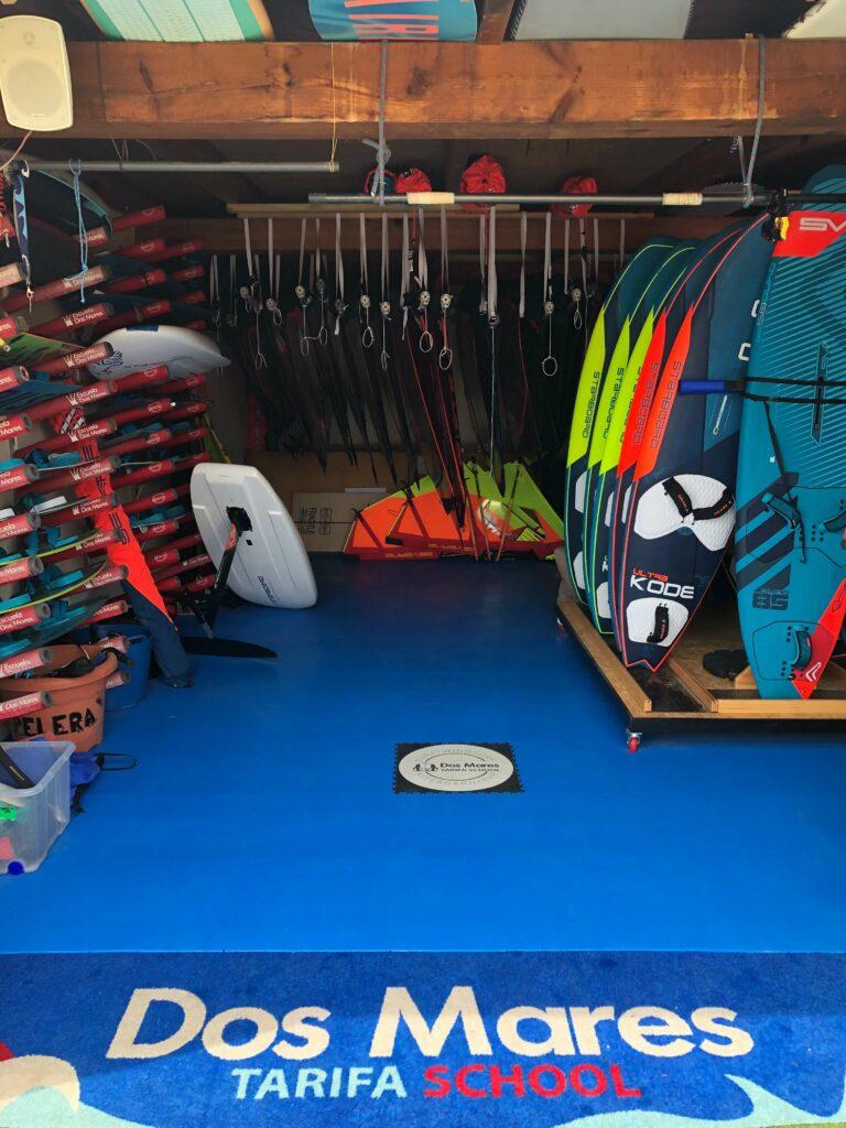 Noleggio surf, Spagna